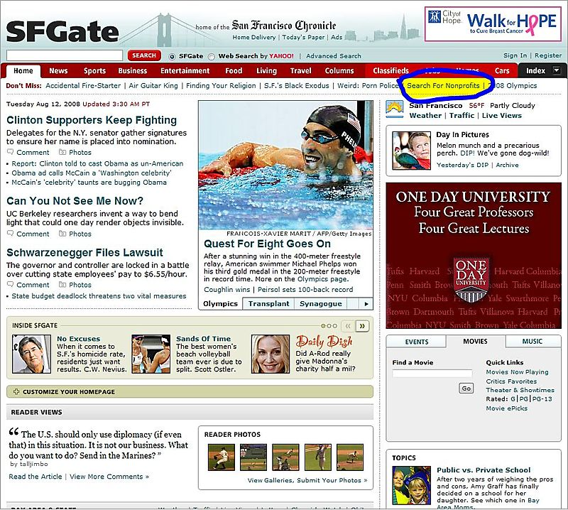 08-08-12 SFGate Home Page